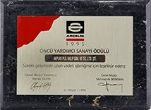 ARÇELİK PIONEER SUPPLIER AWARD