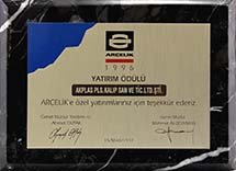 ARÇELİK INVESTMENT AWARD
