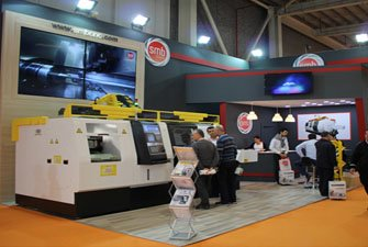 SMB CNC Exhibited at Maktek Istanbul